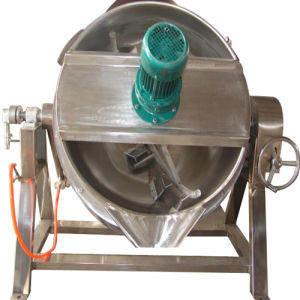 High Quality Double Layered Jacketed Kettle pictures & photos