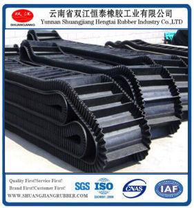 Corrugated Sidewall V Rubber Conveyor Belt (ISO Certified)
