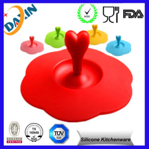 Factory Cute Style Silicone Cup Lid pictures & photos