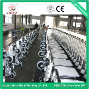 Factory Wholesale 3 Wheels Aluminum Alloy Airport Trolley (JT-SA02) pictures & photos