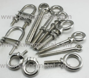 Stainless Steel DIN444 Cast Eye Bolt pictures & photos