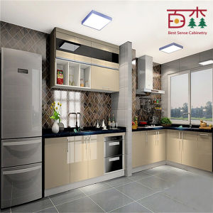 Hot sales china made cheap cost high gloss lacquer small for Cheap kitchen cabinets from china