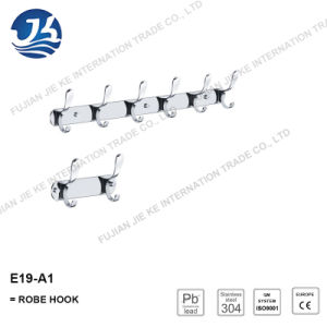 High Quality 304 Stainless Steel Simple Bathroom Straight Hange (E19-A2)