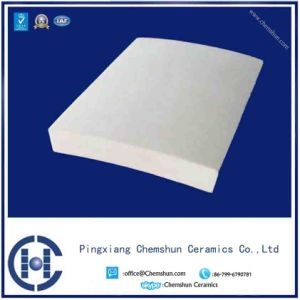 Abrasive Resistance Curved Alumina Wear Tile Liner From Manufacturer pictures & photos