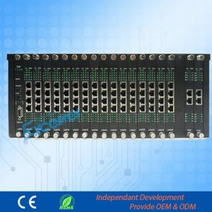 Pabx Telephone Exchange for Business Hotel D256A-24256 PBX pictures & photos
