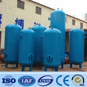Vertical Air Receiver Tank Water Storage Tank (300-3000L)