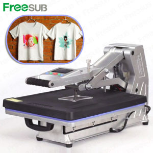 Touching Screen Automatic T-Shirt Heat Press Machine pictures & photos