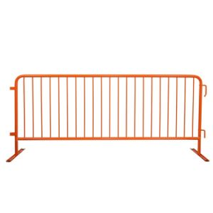 8′ Crowdmaster Flat Feet Black Steel Barricade pictures & photos