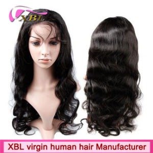 China Wholesale Natural Human Hair Full Lace Wig pictures & photos