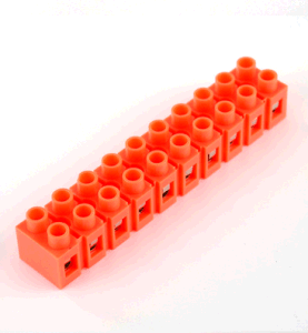 H Fixed Terminal Blocks (H2519-10) Orange Terminal Block pictures & photos