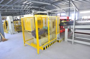 Carton Paperboard Making Machine Series: Corrugated Single Facer Machine pictures & photos