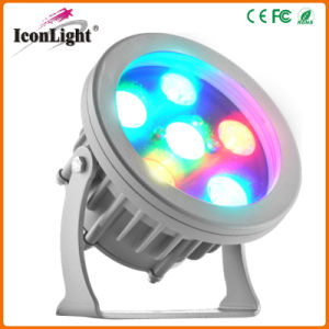Small Outdoor RGB LED Flat PAR for Street Garden Lighting pictures & photos