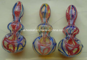 Glass Smoking Hand Pipe Bubbler News Model Ea-28
