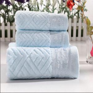 Popular latest Fancy Jacquard Design Towel (DPFT8081) pictures & photos