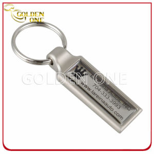 Promotion Matte Nickel Printed Epoxy Metal Key Chain pictures & photos