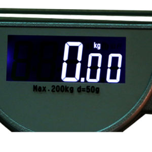 200kg Square Clear Glass Digital Body Weighing Machine Health Scale pictures & photos