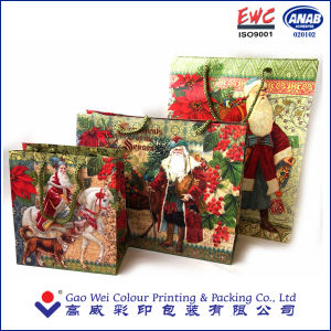 Christmas Packaging Bag with Customized Logo pictures & photos