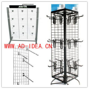 Wire Mesh Display Stand Replaced Hooks and Hangers pictures & photos