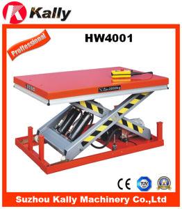 Heavy Duty Stationary Electric Hydraulic Scissor Lift Table (HW4001)
