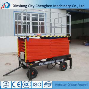 Adjustable Hydraulic Warehouse Lift Platform pictures & photos
