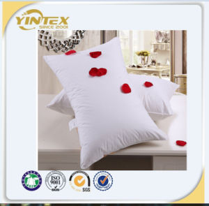 Hotel Neck Pillow with Goose Down or Feather Filling and cotton Cover pictures & photos