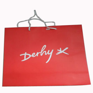 Red Paper Shopping Bag for Women Gift Bag pictures & photos