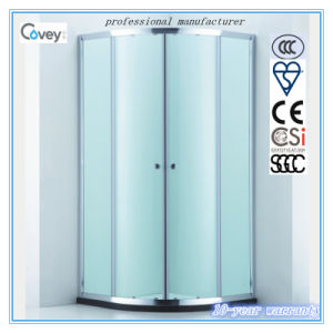 Shower Enclosure with Bi-Metal Quiet Pulley Wheel (A-CVC047-S)