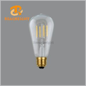 LED St64X4t-1 Dimmable LED Filament Bulb pictures & photos