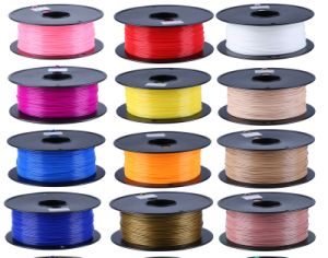 PLA/ABS/HIPS/Pet/PVA/Flex 1.75mm 3D Printer Filament pictures & photos