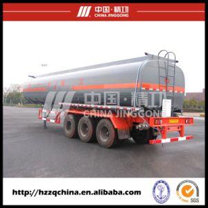 Chemical Tanker Trailer, Liquid Tank Semi-Trailer (HZZ9403GHY) for Delivering Liquid Nitrogen pictures & photos