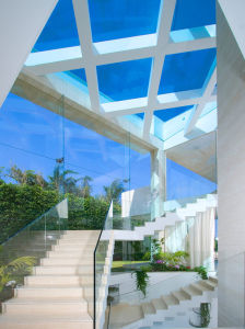 Aluminum U Channel Glass Balustrade System pictures & photos