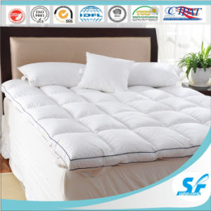 Luxury Five Star Hotel White Goose Down Feather Duvet Mattress Topper pictures & photos