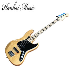 Hanhai Music / Jazz Electric Bass Guitar with 4 Strings pictures & photos