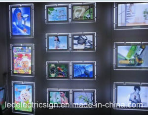 Wall Mounted LED Mirror Window Display pictures & photos