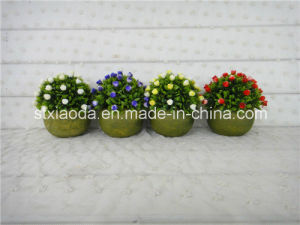 Artificial Plastic Potted Flower (XD15-370)