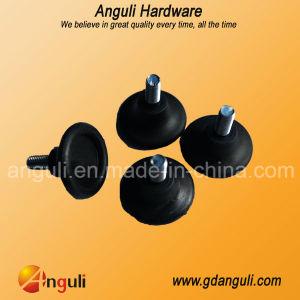 H6605 Furniture Plastic Adjustable Leg, Black Adjustable Glide pictures & photos