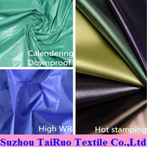 100% Polyester 170t Taffeta190t Taffeta for Garment Lining Fabric pictures & photos