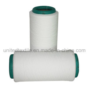 Lycra Covered Polyester DTY Yarn (150D/288F+40D) for Jeans pictures & photos