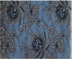 Two Tones Lace Fabric (with oeko-tex certification YF6188) pictures & photos