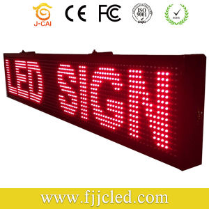 P10 Red Outdoor LED Moving Message Display pictures & photos