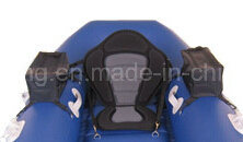 Royal Blue Float Tube Inflatable Boat for Fishing pictures & photos