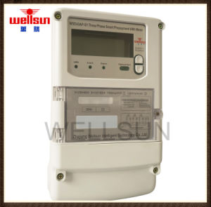 Three Phase Prepayment with Big LED Display Electricity Meters pictures & photos