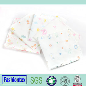 Wholesales Organic Cotton Muslin Face Cloth Baby Handkerchief pictures & photos