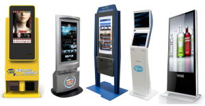 Free Standing Lobby Type Self Service Postal Kiosk for Postal Office pictures & photos
