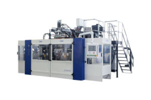 Automatic Pesiticide Bottle Blow Molding Machine B15D-560 (2 Stations 4 Cavities) pictures & photos