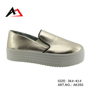 Injection Leisure Shoes Platform Boots for Women (AK350) pictures & photos
