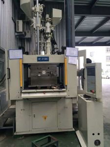 Servo Control Vertical Injection Machine for Two Workstations (HT210DC)