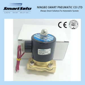 Flow Control Pneumatic Water Solenoid Valve 2W pictures & photos