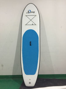 Green Inflatable Sup Stand up Board Paddle Surfing Boards, Customized Size & Color