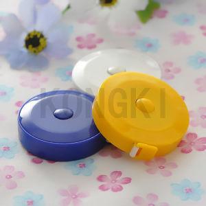 Small Round Kongki Brand Wholesale Mini Body Measuring Tape to Print Logo
